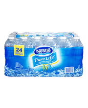 NESTLE PURE LIFE Purified Water, 16.9-ounce plastic bottles (...