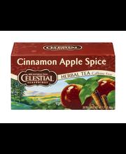 Celestial Seasonings Herbal Tea Caffeine Free Cinnamon Apple ...