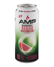 Amp® Energy Zero Watermelon Flavor Energy Drink 16 fl. oz. Can