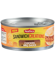 Nalley® Sandwich Creations™ Shredded Chicken in BBQ Sauce 10 ...