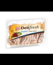 Oscar Mayer Deli Fresh Smoked Turkey Breast 9 oz. Tub
