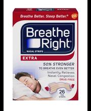 Breathe Right® Extra Tan Nasal Strips 26 ct Box