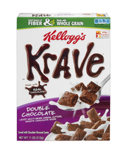 Kellogg's® Krave™ Double Chocolate Cereal 11 oz. Box