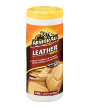 Armor All Leather Wipes - 20 CT