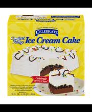 Celebrate Confetti Fudge Ice Cream Cake