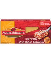 American Beauty® Oven Ready Lasagna 8 oz. Box