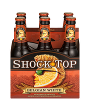 Shock Top Belgian White, 6 pk 12 fl. oz. Bottles