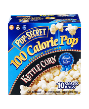 Pop-Secret® 100 Calorie Pop® Kettle Corn Popcorn 10-1.12 oz. ...
