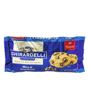 Ghirardelli Chocolate® Milk Chocolate Premium Baking Chips 11...