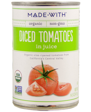 Madew Tomatoes Diced Org