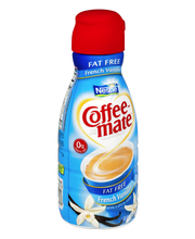 COFFEE-MATE French Vanilla Fat Free Liquid Coffee Creamer 32 ...