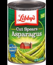 Libby's® Tender Green Cut Asparagus Spears 14.5 oz. Can
