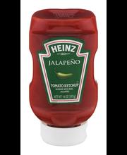 Heinz Jalapeno Tomato Ketchup 14 oz. Bottle