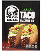 Taco Bell® Mild Taco Seasoning Mix 1 oz. Packet