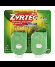 Zyrtec® Allergy Cetirizine HCl/antihistamine 10 mg tablets 14 ct