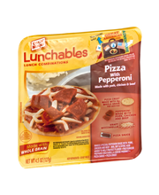 Lunchables Pizza with Pepperoni Lunch Combination 4.3 oz. Tray