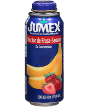 Jumex® Strawberry-Banana Nectar from Concentrate 16 fl. oz. C...
