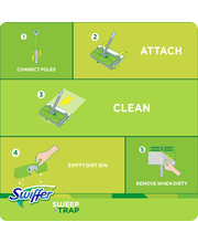 Sweep & Trap Swiffer Sweep & Trap Floor Cleaner Starter Kit