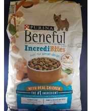 Purina Beneful IncrediBites With Chicken Dog Food 15.5 lb. Bag