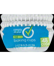 SIMPLY DONE BAKE CUPS FOIL