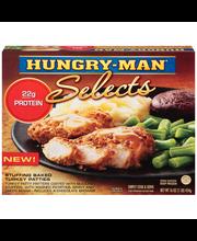 Hungry-Man® Selects Stuffing Baked Turkey Patties 16 oz. Box