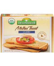Devonsheer® Melba Toast Classic 5 oz. Box