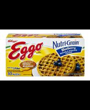Kellogg's® Eggo® Nutri-Grain® Blueberry Waffles 10 ct Box