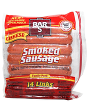 Bar S Smk Sausage W/Chs