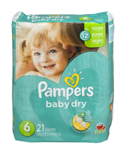 Pampers Baby Dry Size 6 Diapers 21 ct Pack