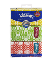 Kleenex® Everyday Facial Tissues 3-Ply Pocket Pack 3-10 ct. P...