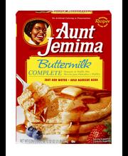 Aunt Jemima Complete Buttermilk Pancake & Waffle Mix 32 oz. Box
