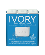 Ivory® Original Scent Bar Soap 3-3.1 oz. Bars