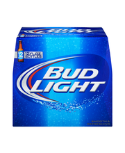 Bud Light Beer, 12 pk 12 fl. oz. Bottles