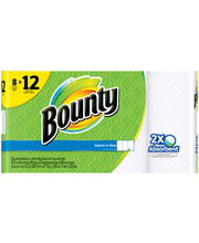 Bounty Select-A-Size White Paper Towels 8 ct Pack