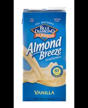 Blue Diamond® Almond Breeze® Vanilla Almondmilk 32 fl. oz. As...