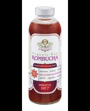 GT's Enlightened Organic Raw Kombucha Hibiscus No. 7