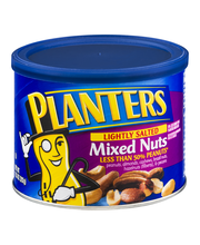 Planters Lightly Salted Mixed Nuts 10.3 oz. Canister