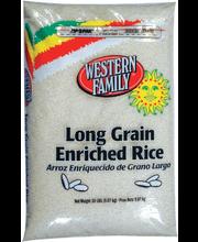 Wf Long Grain White Rice