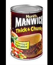 Manwich Thick & Chunky Sloppy Joe Sauce 15.5 Oz Can