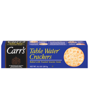 Carr's® Table Water® Crackers Baked with Toasted Sesame Seeds...