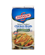 Swanson® Natural Goodness™ Chicken Broth, 32 oz.