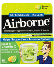 Airborne®  Vitamin C Immune Support Effervescent Tablets 10 c...