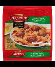 Armour® Italian Style Meatballs 14 oz. Bag