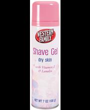 Wf Shave Gel Dry Skin / Women