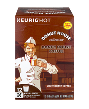 Donut House Collection Donut House Coffee K-Cup Pods Light Ro...