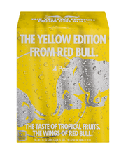 Red Bull The Yellow Edition Energy Drink Tropical - 4 CT