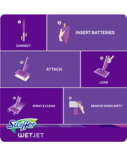 WetJet Swiffer WetJet Multi-purpose Floor Cleaner Solution Re...