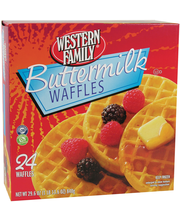 Wf Bttrmlk Waffles 24Ct