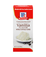 McCormick® Concentrated Vanilla Flavor 2 fl. oz. Box