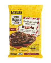 Nestle TOLL HOUSE Dark Chocolate Peppermint Cookie Dough 16 o...